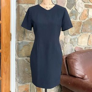 Lord & Taylor black sheath dress size 6